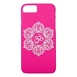 Coque iPhone 7 Fleur de Lotus rose OM