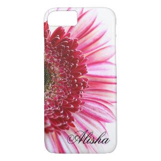 Coque iPhone 7 Fleur de marguerite de Gerbera de roses indien