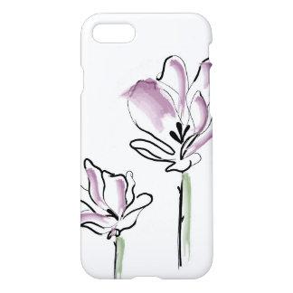 Coque iPhone 7 Fleur de schéma