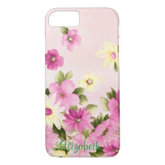Coque iPhone 7 Fleurs adorables, Girly, fleurissantes -