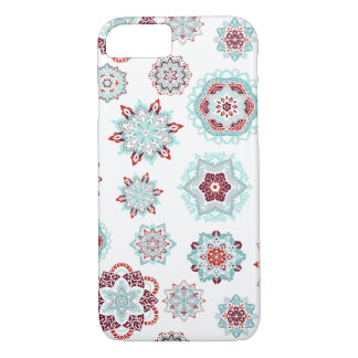 Coque iPhone 7 Flocons de neige ardents