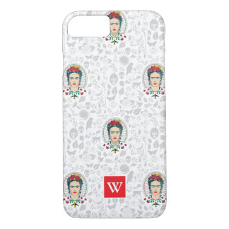 Coque iPhone 7 Floral vintage de Frida Kahlo |