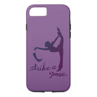 Coque iPhone 7 Frappez un yoga de ~ de pose et un créatif inspiré
