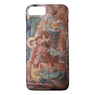Coque iPhone 7 Fresques de l'église serbe du 14ème siècle,