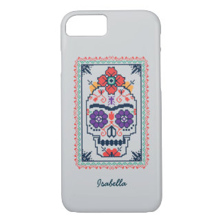 Coque iPhone 7 Frida Kahlo | Calavera