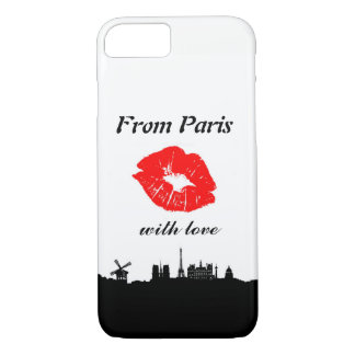 Coque iPhone 7 From Paris With Love iPhone 7 Case