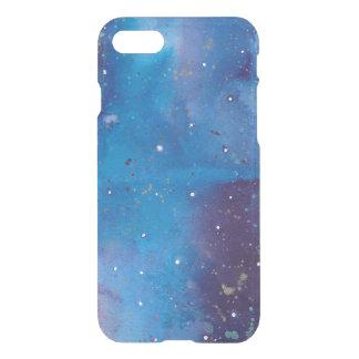 Coque iPhone 7 Galaxie bleu-foncé