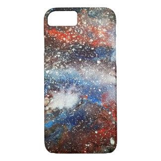 Coque iPhone 7 Galaxie foncée