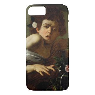 Coque iPhone 7 Garçon mordu par un lézard, c.1595-1600 (huile sur