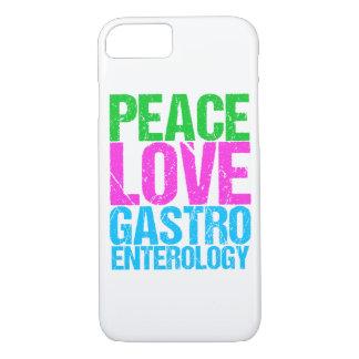 Coque iPhone 7 Gastroentérologie d'amour de paix