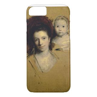 Coque iPhone 7 Georgiana, comtesse Spencer et sa Madame de fille