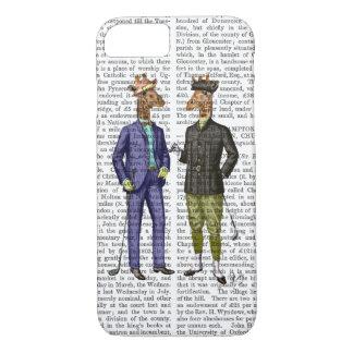 Coque iPhone 7 Girafes jouantes au golf 2