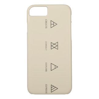 Coque iPhone 7 glyphs