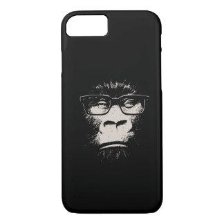 Coque iPhone 7 Gorille de hippie avec des verres