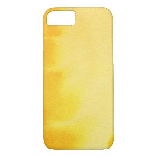 Coque iPhone 7 grand arrière - plan d'aquarelle - peintures