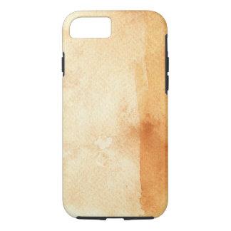 Coque iPhone 7 grand arrière - plan d'aquarelle - peintures 3