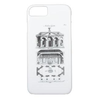 Coque iPhone 7 Grotte moderne, 'd'architecture ou de RUR