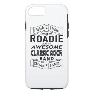Coque iPhone 7 Groupe de rock classique impressionnant de ROADIE
