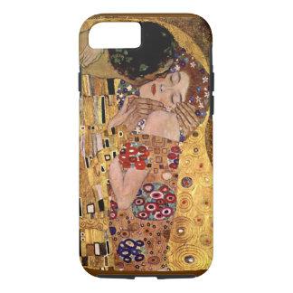 Coque iPhone 7 Gustav Klimt : Le baiser (détail)