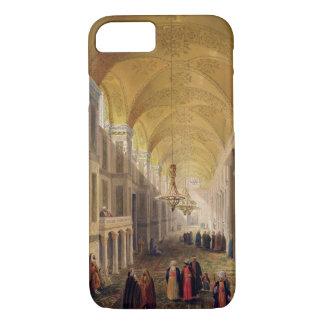 Coque iPhone 7 Haghia Sophia, plat 2 : le narthex, gravé par L