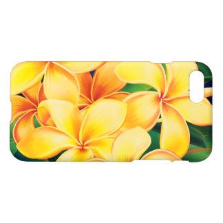 Coque iPhone 7 Hawaïen tropical de Plumeria de paradis