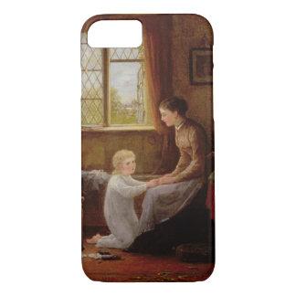 Coque iPhone 7 Heure du coucher, 1890 (huile sur le panneau)