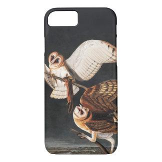 Coque iPhone 7 Hiboux de grange par iphone d'Audubon 8/7 cas