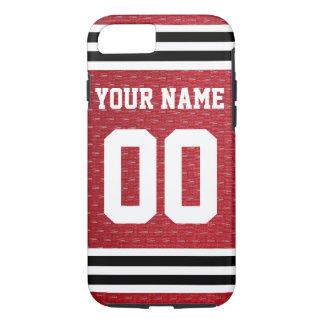 Coque iPhone 7 Hockey customisé Jersey de sports