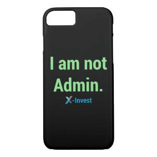 Coque iPhone 7 I urgence à l'Admin.