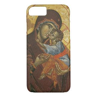 """Coque iPhone 7 Icône connue sous le nom de """"Vierge de tsar"""