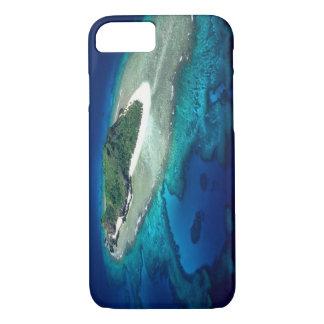 Coque iPhone 7 Île d'Eori, îles de Mamanuca, Fidji - antenne