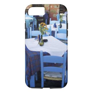 Coque iPhone 7 Île grecque de Crète et de vieille ville de Chania
