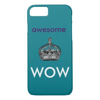 Coque iPhone 7 Impressionnant, cas de téléphone de wow