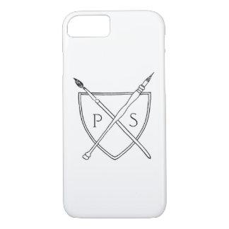 Coque iPhone 7 iPhone 7, à peine là, logo de lycée privé