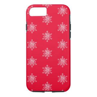 Coque iPhone 7 iPhone 8/7, flocons de neige blancs durs d'Apple