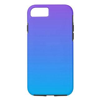 Coque iPhone 7 iPhone bleu et pourpre d'Ombre 8/7 cas de