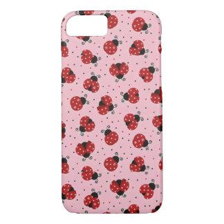 Coque iPhone 7 iPhone de Coque-Compagnon à peine là 8/7 cas rose