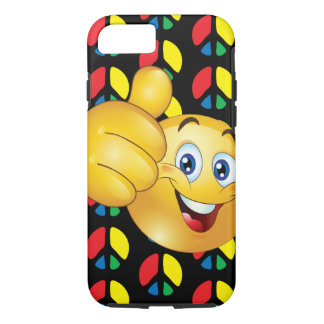 Coque iPhone 7 iphone (de smiley de paix) 7/8 cas