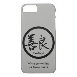 Coque iPhone 7 iPhone noir de Kamon | de kanji de qualité 7 cas