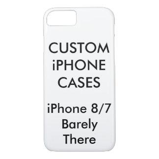 Coque iPhone 7 iPhone personnalisé par coutume 8/7 cas mince