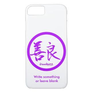 Coque iPhone 7 iPhone pourpre de Kamon | de kanji de qualité 7
