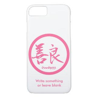 Coque iPhone 7 iPhone rose de Kamon | de kanji de qualité 7 cas