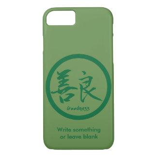 Coque iPhone 7 iPhone vert de Kamon | de kanji de qualité 7 cas