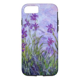 Coque iPhone 7 Iris de pourpre de Monet