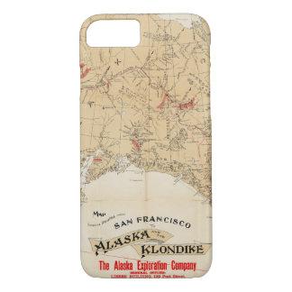 Coque iPhone 7 Itinéraires d'apparence de carte de San Francisco