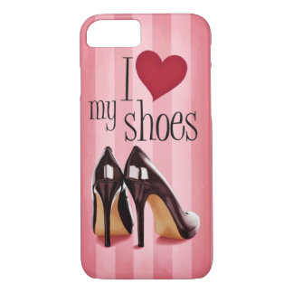 Coque iPhone 7 J'aime des chaussures