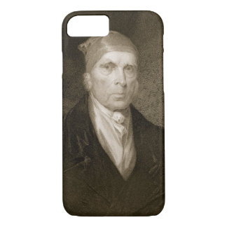 Coque iPhone 7 James Madison a vieilli 82, gravé par Thomas B.