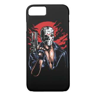 Coque iPhone 7 Jason sera de retour cas brillant de téléphone