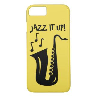 Coque iPhone 7 Jazz il vers le haut du saxophone Iphone 7 cas de