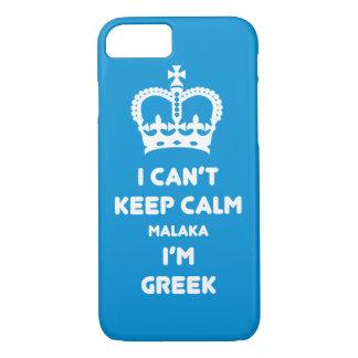 Coque iPhone 7 Je ne peux pas garder Malaka calme…